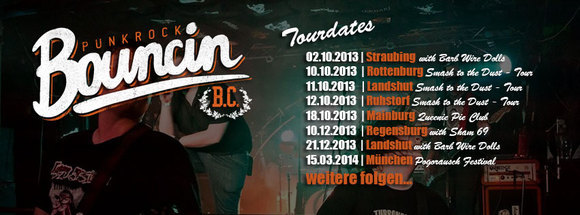 BOUNCIN B.C. - Punk Alternative Rock Live Act in Landshut