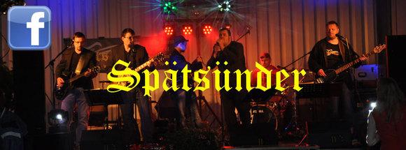 Spätsünder - Tanzmusik Rock Cover Live Act in Muldestausee