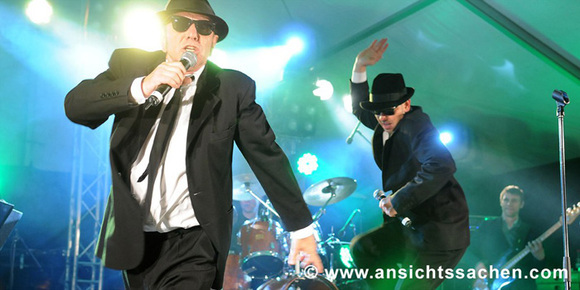 Blues Brothers Show - Soultrain - Rhythm & Blues (R&B) Soul Live Act in Hamburg