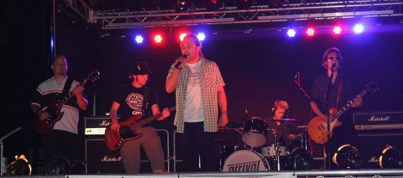 arrival - Rock Melodic Rock Live Act in Eime