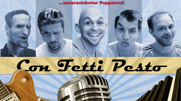 Con Fetti Pesto - Singer/Songwriter Cabaret Rockabilly Punkrock Comedy Live Act in Hamburg
