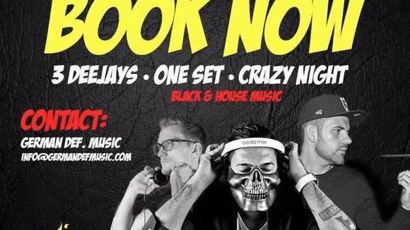 DJ SONEKK DJ BOUANA DJ OHH - Club House Hip Hop DJ in Köln