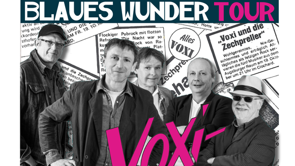 VOXI & die Zechpreller - Punk-Pop Deutschrock Rock Deutsche Texte Live Act in Meitingen