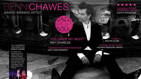 Benni chawes - Jazz Pop Soul Live Act in Copenhagen N
