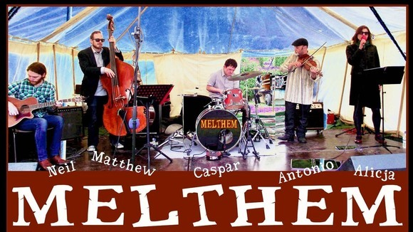 Melthem - Jazz manouche Gypsy Jazz Celtic Folk New Folk Original Live Act in York