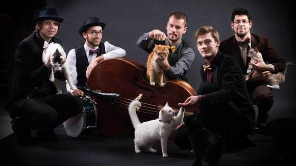 The Swing Cats - Jazz Gypsy Jazz Rockabilly Swing Gypsy Swing Live Act in Vilnius