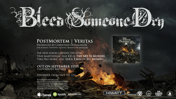 Bleed Someone Dry - Death Metal Metalcore Post Core Djent Live Act in Pistoia