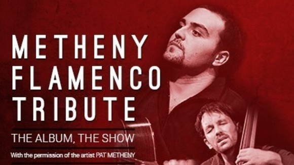 Metheny flamenco by Santiago Lara - Jazz Fusion Jazz Flamenco Live Act in Jerez de la Frontera