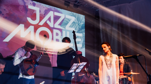 Alina Rostotskaya&Jazzmobile - Jazz Fusion Contemporary Jazz Ethnojazz Live Act in Moscow