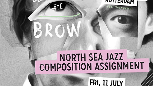 Art of the Eyebrow - Improvisation Live Act in Amsterdam
