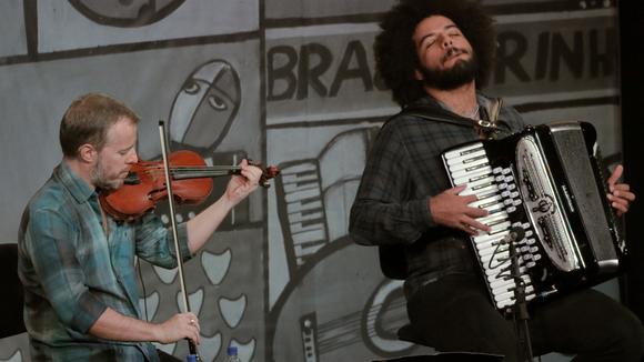 NICOLAS KRASSIK & MAESTRINHO - Brazilian Jazz Live Act in RIO DE JANEIRO
