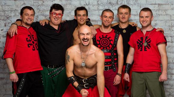 Haydamaky - Skapunk Folk-Punk Balkanbeats Reggae Roots Live Act in Kiew