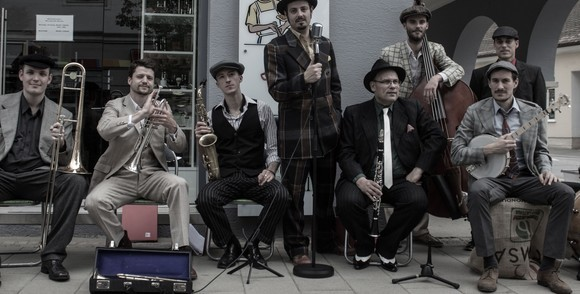 Streetview Dixieclub - Swing Live Act in Graz