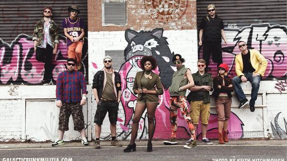 Galactic Funk Militia - Funk Dance Funk Hip Hop Live Act in Liverpool