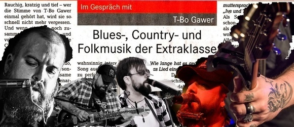 T.Bo Gawer - Singer/Songwriter Americana Blues Folk folk-blues Live Act in Rheinhausen