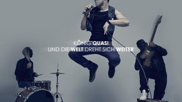 König Quasi - Alternative Rock Punk Rock Hip Hop Live Act in Berlin