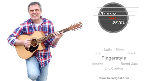 Bernd Gast - Fingerstyle Blues Pop Jazz Original Live Act in Köln