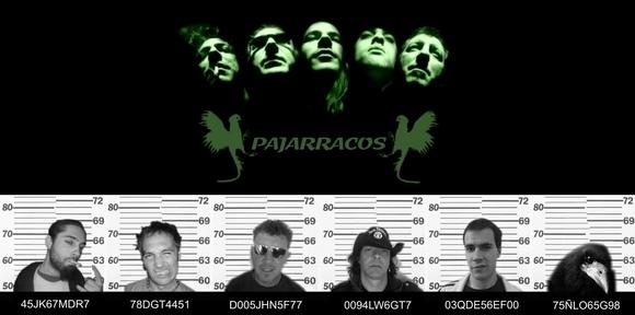 PAJARRACOS - Rock Live Act in ZAMARRAMALA / SEGOVIA