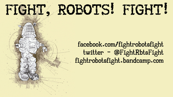 Fight, Robots! Fight! - Blues Rock Classicrock Rock Live Act in Edinburgh