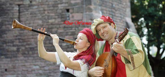 MittelalterDuo WORMEZ - Mittelalter Celtic Folk Mittelalter Live Act in Worms-Herrnsheim