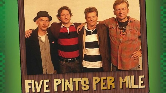 five pints per mile  - Folk Pop Rock Live Act in Berlin