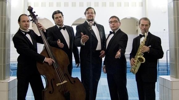 Wilhelm Wolf und die möblierten Herren - Salonmusik Jazz Cover Live Act in Schwetzingen