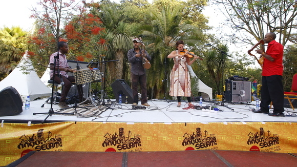 QWANQWA - ethno-fusion Live Act in Addis Ababa