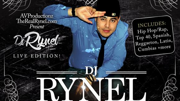 DJ Rynel - Hip Hop Latin Spanish Cumbia DJ in San Marcos