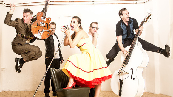Jennyandthesteadygos - Blues Rock 'n' Roll Rockabilly Live Act in Münster