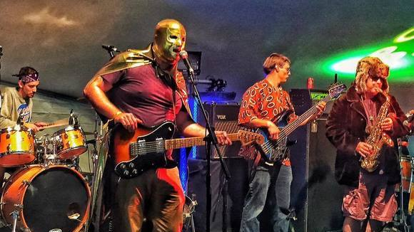 Titus Monk & Posse - Afrobeat Psychedelic Retro Future Sound  Spacerock Glam Punk Live Act in Bethesda