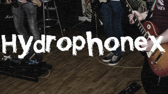 Hydrophonex  - Indie Britpop Rock Live Act in Enniskillen
