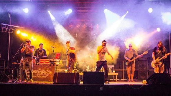 Asthma La Vista - Hip Hop Rap Live Live Act in Chemnitz