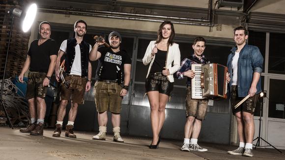 Die Woidrocker - Partymusik Schlager Rock Volksmusik Cover Live Act in Prackenbach
