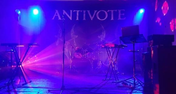 ANTIVOTE - Dark Electro Live Act in Langenweißbach