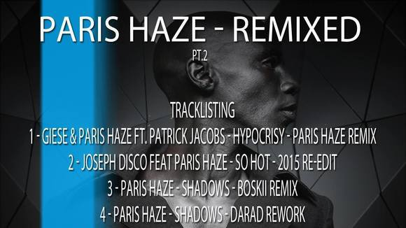Paris Haze - Techno Techhouse Breakbeat Minimal House DJ in Berlin