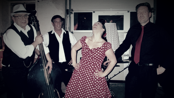 Betty Sue & the Hot Dots - Swing Post Vintage Blues Rockabilly Live Act in Landau