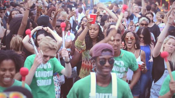 Southlondonsamba - Afro-Latin Worldbeat Samba Live Act in london