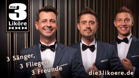 Die 3 Liköre - Swing Cover Live Act in Köln