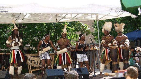 Pamuzinda - African Afro-Cuban Reggae Live Act in Munich