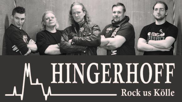 HINGERHOFF - Deutschrock Live Act in Köln