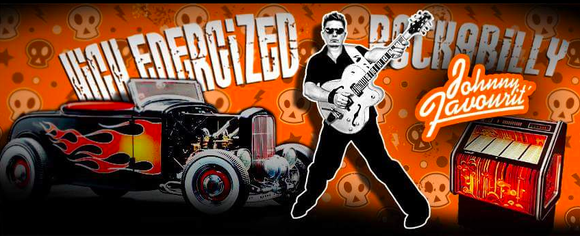 Johnny Favourit - Rockabilly Live Act in Wien