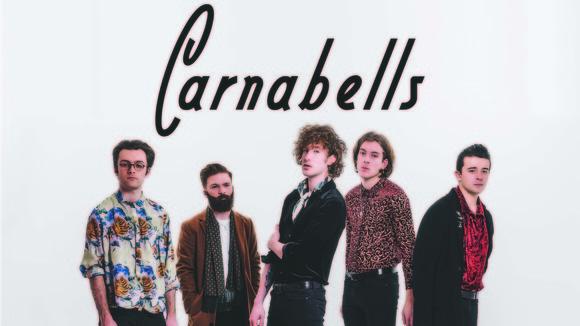 Carnabells - Indiepop Rock Melodic Postpop Post Indie Live Act in LEEDS