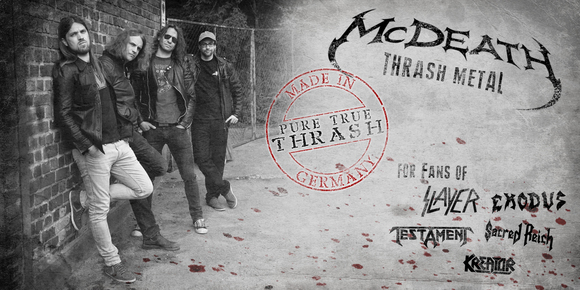 McDEATH - Thrash Metal Metal Oldschool Live Act in Dortmund