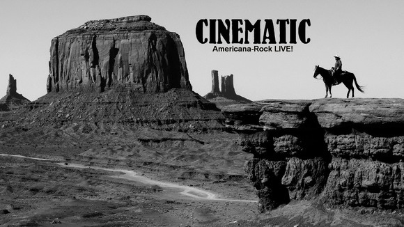 Cinematic - Americana Postrock Folk Rock Blues Rock Rock Alternative Rock Live Act in weil der stadt