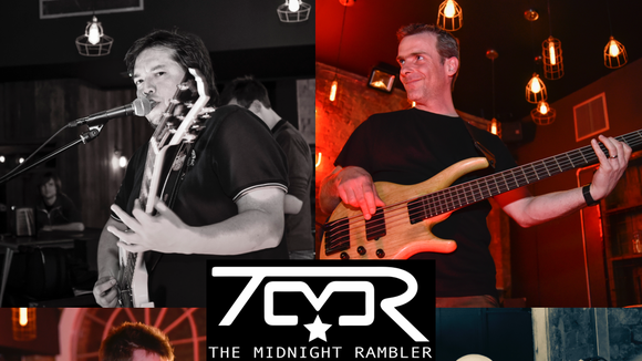The Midnight Rambler - Rock Blues Rock Electropunk Alternative Funk Acoustic Rock Live Act in Reading