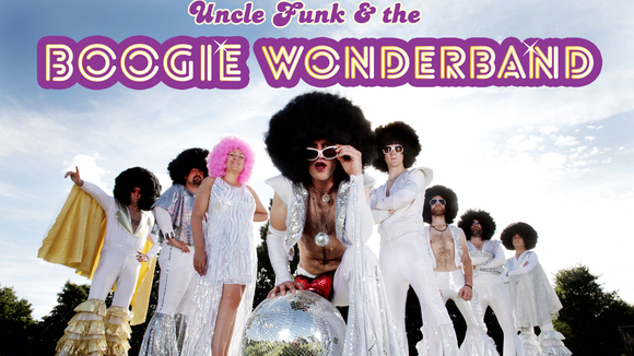 Uncle Funk & The Boogie Wonderband - Disco Cover Live Act in Bishop's Stortford