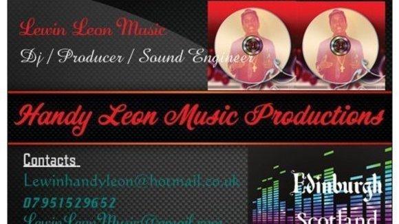 LewinLeonMusic - Afrobeat Pop House Hip Hop R&B Live Act in edinburgh
