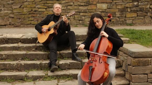 York und Maria del Mar - Acoustic Singer/Songwriter Lounge Jazz Pop Deutsche Texte Eigene Songs Live Act in Köln