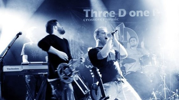 Three D one P - Alternative Rock Rock Melodic Live Act in Bretten