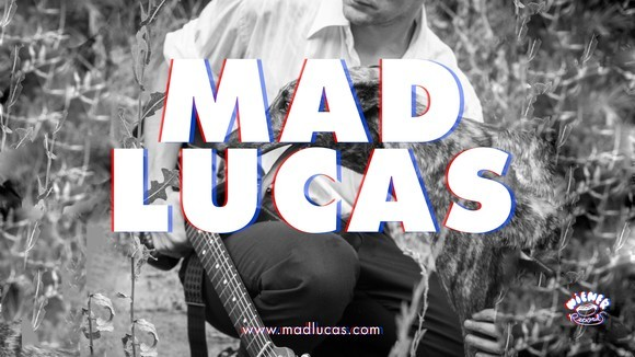 Mad Lucas - Alternative Rock Indie space rock Blues Folk Rock Electropunk Live Act in Berlin